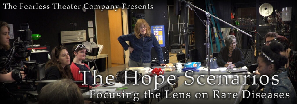 """The Hope Scenarios: Focusing the Lens on Rare Diseases"" Banner"